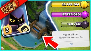 SUMMER UPDATE IS HERE!! ▶️ Clash of Clans ◀️ BUYING MY NEW FAVORITE STUFF