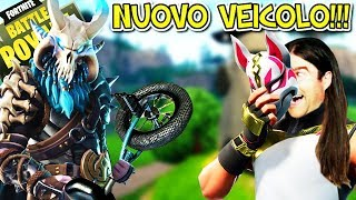 """SCOPERTO"" NEW FORTNITE VEICOLO!!! QUANTI PUNT EXP. Do they need to MAXING OUT THE LEGENDSKIN?"