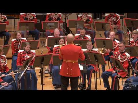"""GRAINGER Children's March, """"Over The Hills And Far Away"""" - U.S. Marine Band - Tour 2018"""