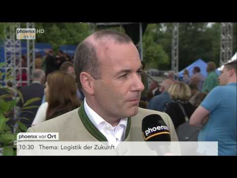 CSU-Wahlprogramm: Manfred Weber im Interview am 23.07.17