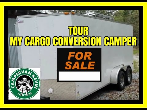 Cargo Trailer Camper Conversion For Sale- NOW SOLD
