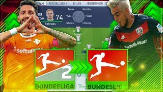 KÖNNTE DAS BESTE 2. LIGA TEAM IN DER BUNDESLIGA ÜBERLEBEN!?? 💀🔥😱 - FIFA 18 Experiment
