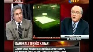 Hayrettin Kozak'ın Türk Telekom Arena Hakkında Konuşması