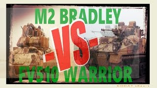 let s play armored warfare with musashi m2 bradley vs fv501 warrior