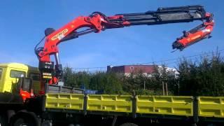 Grúa ocasion - Used crane PALFINGER PK 66000 -S-121213 (www,transgruas.com)