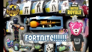 Fortnite Costumes & Props at Spirit Halloween!!! | StewarTV