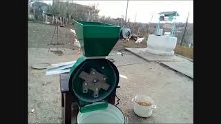 Зернодробилка(крупорушка, млин) Минск Електро 3500 Вт Обзор