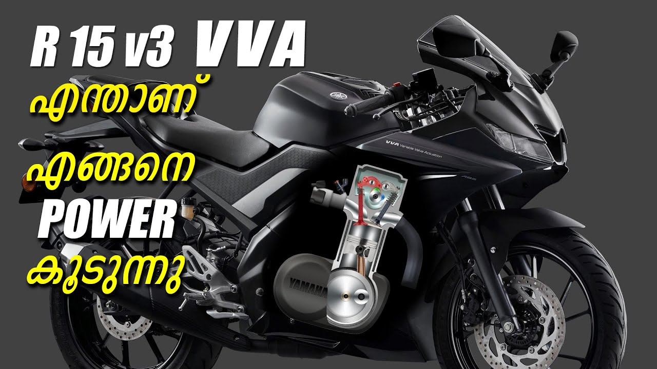 Download How VVA Improves Power and Speed of R15 v3 | Valve Timing and Power | Malayalam
