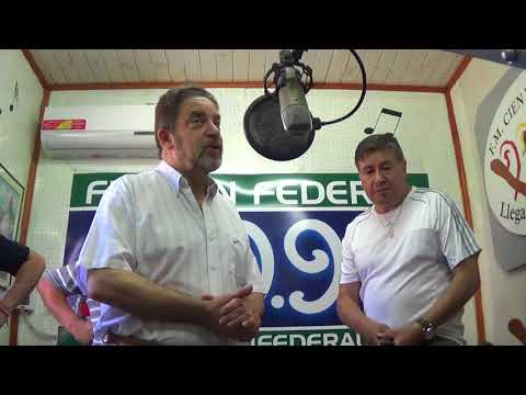 COMBATIMOS en la radio FM CIEN FEDERAL, Entre Ríos.