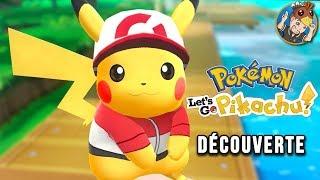 POKEMON Let's Go Pikachu : découverte avec Krayn !