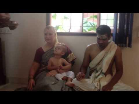 Srirangam Radhu-Second Grandson Karthik Prasad Aaush Homam- 1