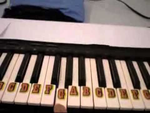 How to Play God Bless America On Piano Easy For Beginner