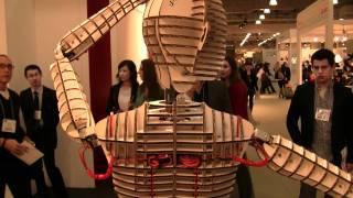 D-torso D+ropop Cardboard Robot Icff 2011