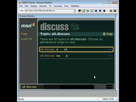 WebTV MsnTV Hack