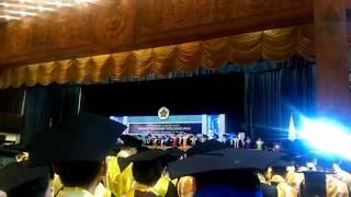Hymne UGM bikin merinding di wisuda pascasarjana UGM