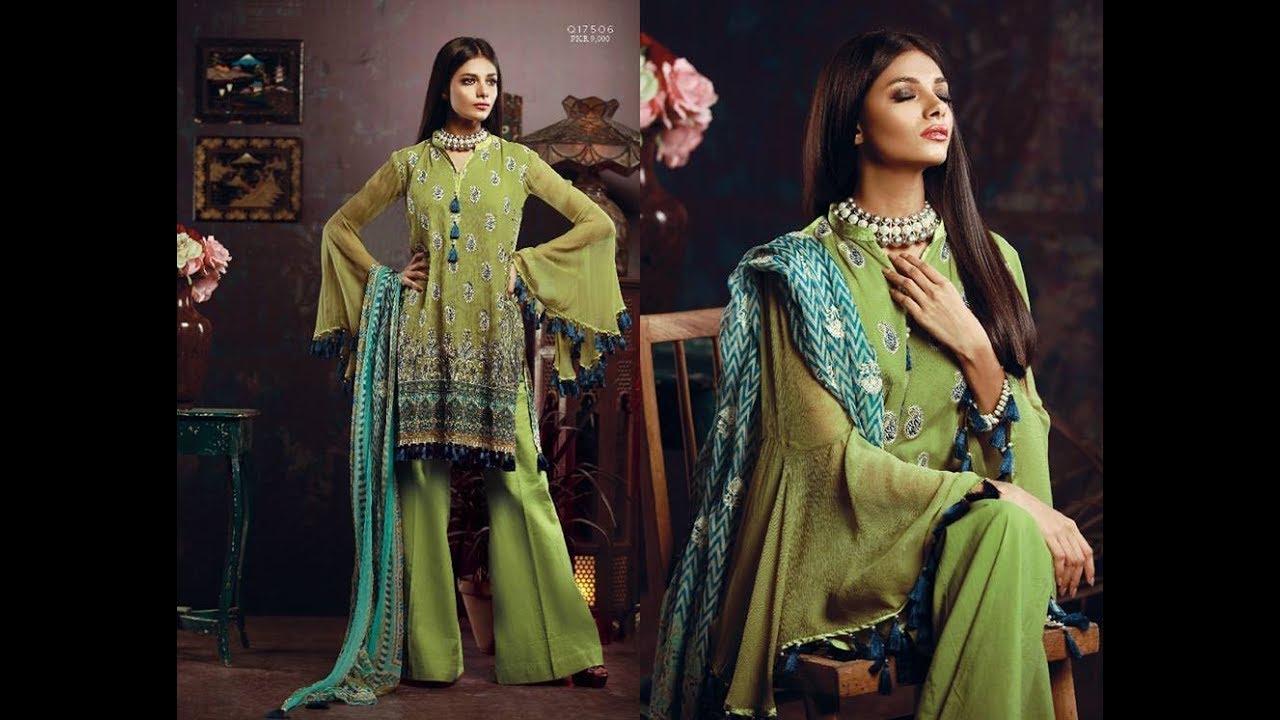 53c1fb6142 Khaadi Silk Luxury Collection 2017 18 Latest Summer Lawn Designs ...