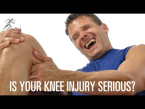 How to know if you have a serious knee injury