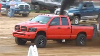 Diesel 4x4 Truck Pull Greene County Fair 8-7-18