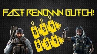 Rainbow Six Siege Renown Glitch/Method PS4/XB1