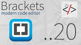 Brackets урок 20. CodeFolding - сворачивание кода