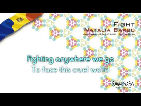 "Natalia Barbu - ""Fight"" (Moldova) - [Karaoke version]"