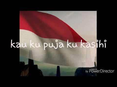 Indonesia pusaka lirik