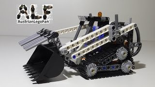 Lego Technic 42032 Compact Tracked Loader / Kompakt Raupenlader - Lego Speed Build Review