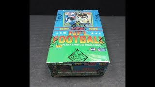 1989 Score Football Box   2018 National eXtreme Promo