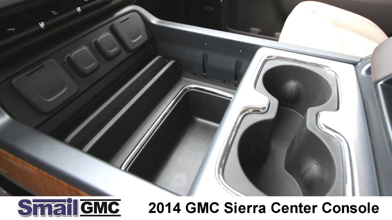 Ram 1500 Accessories >> 2014 GMC Sierra Center Console - YouTube