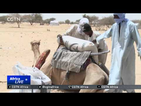 Aid agencies scrambling to help refugees in Chad