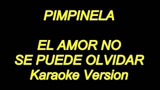 Pimpinela - El Amor No Se Puede Olvidar (Karaoke Lyrics) NUEVO!!