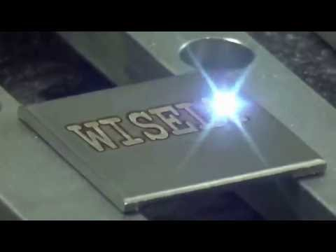 Deep Laser Engraving On Stainless Steel , Fiber Laser Engraving Machine For Metal