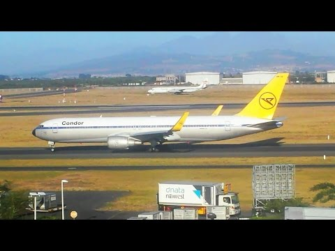 Plane Spotting January 2017   Cape Town Airport  (Incl. SAA's New A330-300E!!)