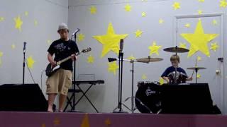 Rosalie Idol Wipeout: 9 Year Old Drummer