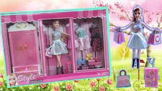 MY LATEST BEAUTIFUL FASHION BARBIE SET REVIEW AND UNBOXING INDIAN TOY STORE