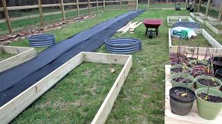 Framed, Raised and Earth Vegetable Garden Beds: Costs, Designs & Principles - My First Beds are In!