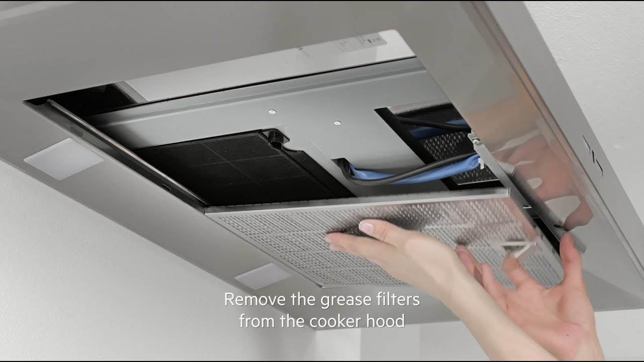 How To Change Your Aeg Cooker Hood Filter Carbon Filter