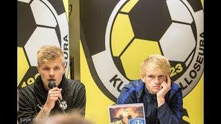 Lehdistötilaisuus: KuPS - FC Vitebsk