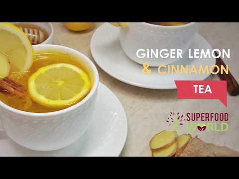 Immune Boosting Ginger Turmeric Cinnamon Tea - Superfood World