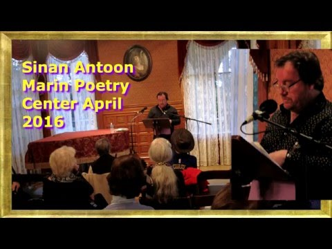 Marin Poetry Center presents Sinan Antoon