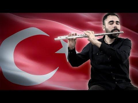 Çanakkale Türküsü [Yan Flüt]+[Nota]+[Karaoke]