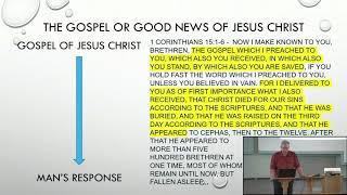 2020 09 06   AM Bible Class   Jim Hoggatt