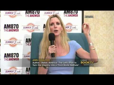 Ben Shapiro interviews Ann Coulter; Adios America; 7/13/2015; C-Span
