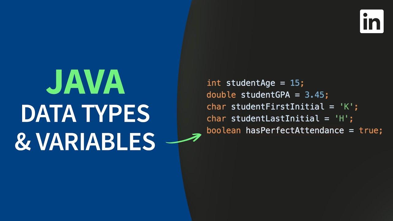 Java Programming – Basic data types and variables