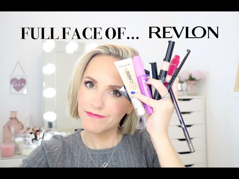 FULL FACE OF…Revlon