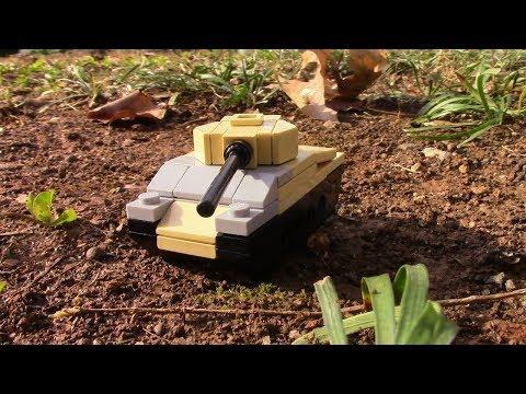 Tiny Lego Tanks: M4 Sherman Tutorial