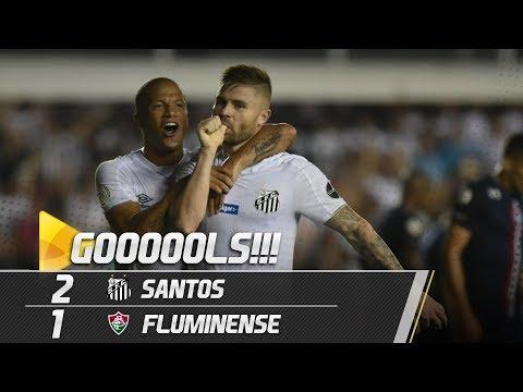 SANTOS 2 X 1 FLUMINENSE | GOLS | BRASILEIRÃO (02/05/19)