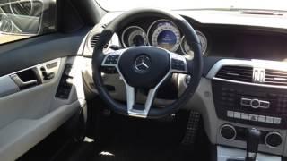 2012 Mercedes-Benz C-Class  C350 4MATIC Sedan with Premium Package