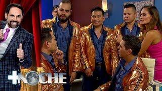 Los Recoditos reciben ¡terapia grupera! | + Noche | Distrito Comedia