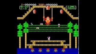 NES Longplay [490] Donkey Kong 3